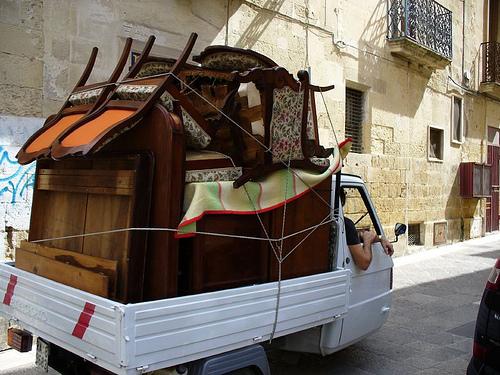 Tempo di trasloco la versione di vinz for Regalo mobili vecchi